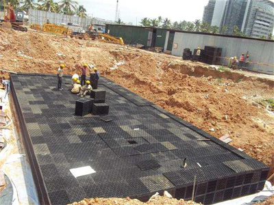 Life Green Systems Case Study Modular Rainwater