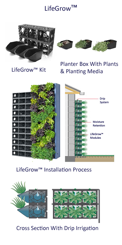 LifeGrow™ Kit with Installation Process
