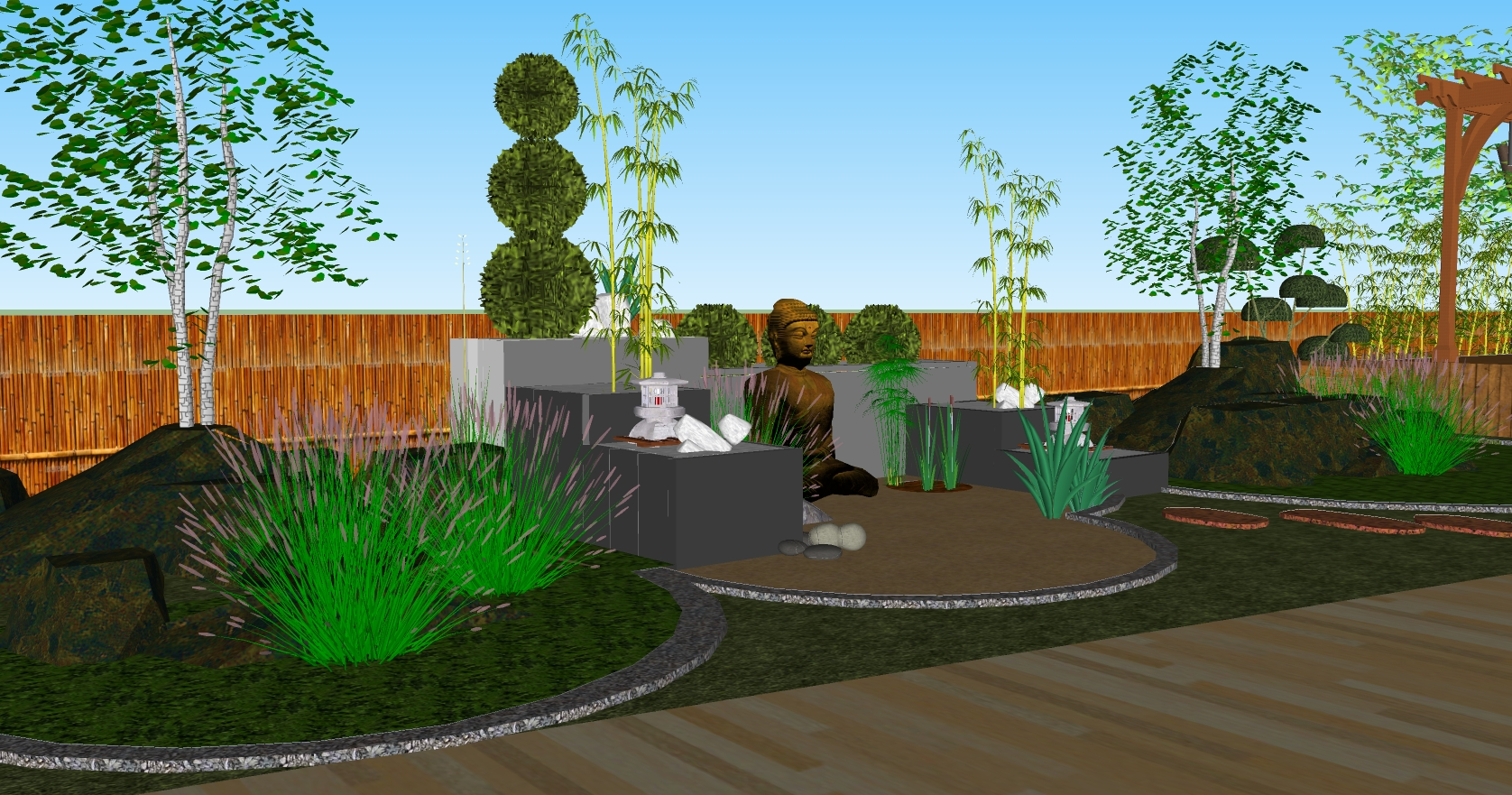 Japanese Garden Design By Life Green Systems