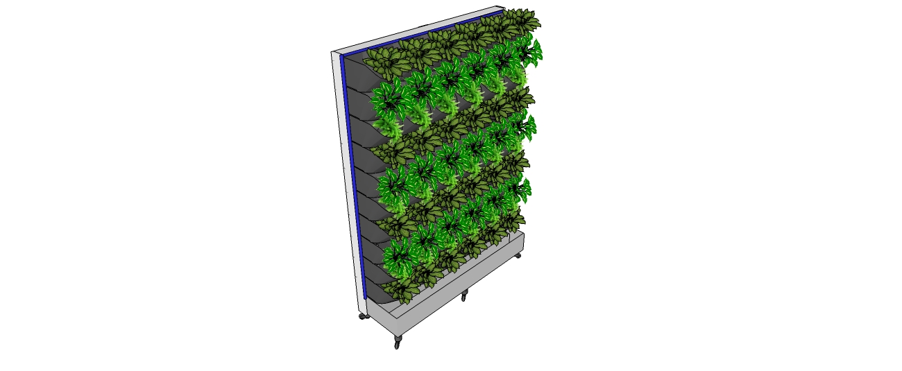 LifeGrow Movable Vertical Gardens