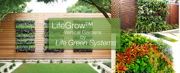 Movable Vertical Garden By Life Green Systems